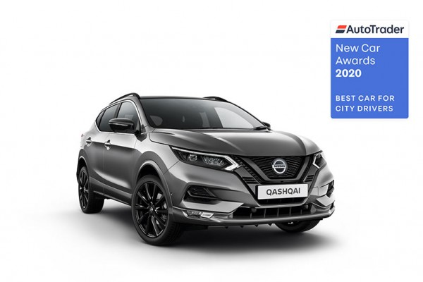 "Nissan QASHQAI è ""Best Car for City Driver"" agli AutoTrader New Car Awards 2020"